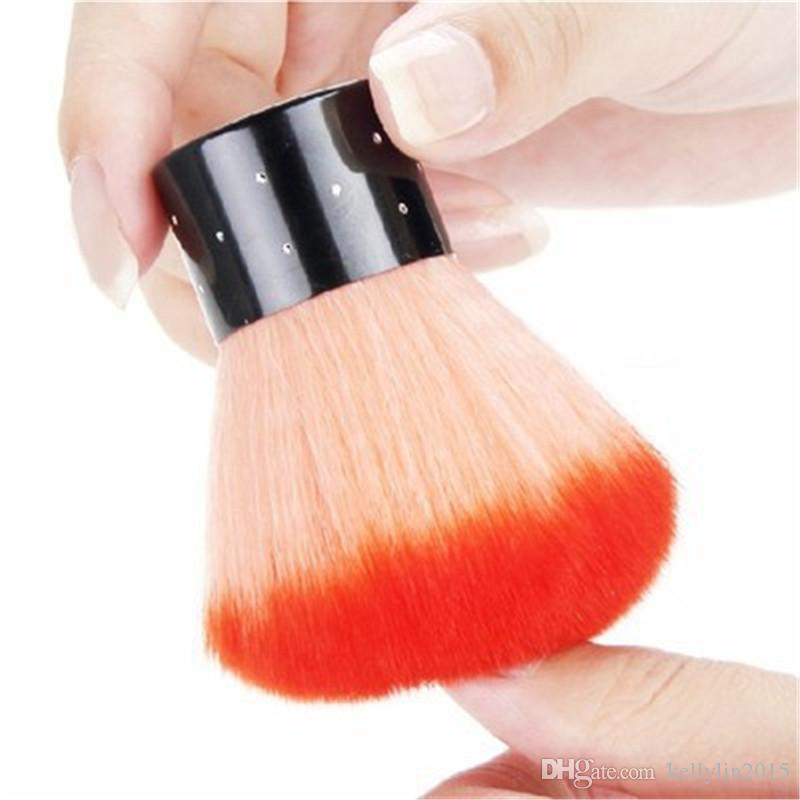 Nail Art Dust Brush Cleaner Tools Professional Makeup Powder Blush Cleaning Brush for Acrylic UV Gel Nail Polish Art Decor Cleaning Brushes
