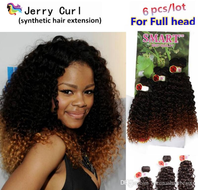 2018 Synthetic Crochet Braids Twist Hair Weave Ombre Bug Brown
