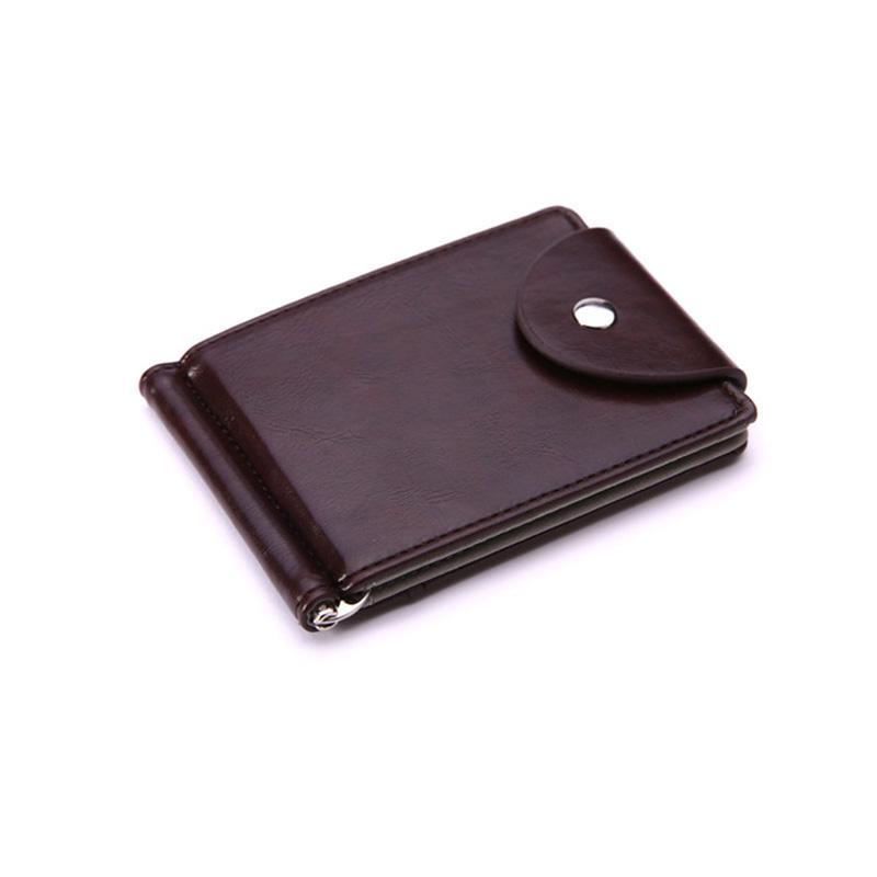 2018 New Brand Designer Wallet Women Men Mini Leather Money Clip Wallet  Pocket Purse Clamp Man Slim Bag ID Holder My Wallet Womens Wallets From  Faaa a328b4e2c