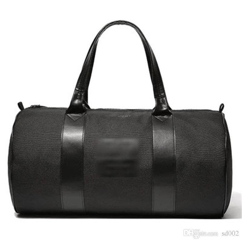 Black Nylon Travelling Case Large The Single Shoulder Bag Cylinder Luggage Cases Satchel Yogo Sport Bags Men And Women 28yz gg