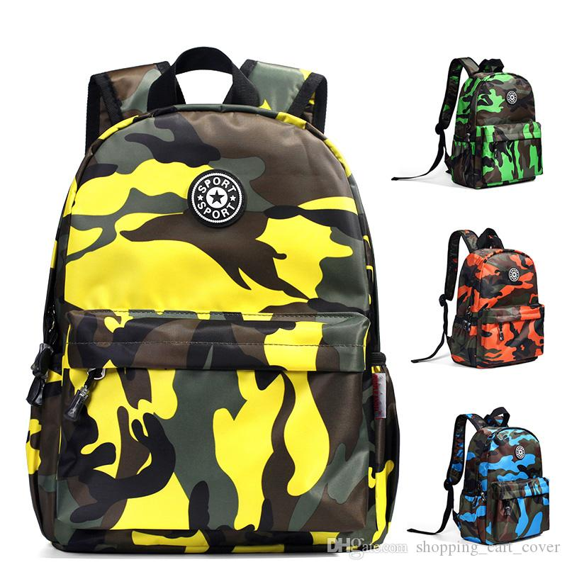 3dab33a8642 Fashion Baby Kid Toddler Child Infant Nursery Boy Girl Student Camouflage  Travel Backpack Shoulder Book School Bag Rucksack Schoolbag Xmas Cheap  Rolling ...