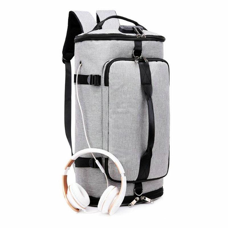 2019 Mens Gym Bag With Compartment For Shoes Women Nylon Travel Bag