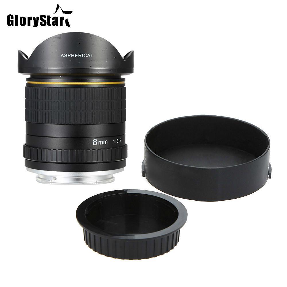 c07f0762c Compre Glória Estrela 8mm F / 3.5 Asférica Lente Da Câmera Circular Ultra  Wide Fisheye Lens Para Canon Dslr 550d 650d 750d 77d 80d 1100d Câmeras De  Glorys, ...