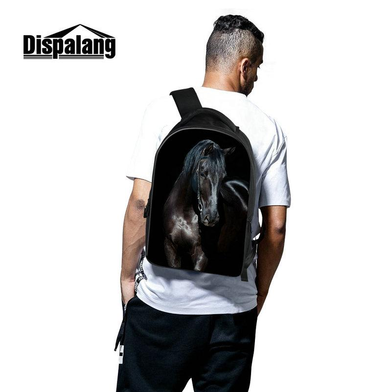 High School Big Laptop Back Pack Bags Womens Computer Backpack With Laptop Compartments Large Space Bookbags For School Children Fox Print
