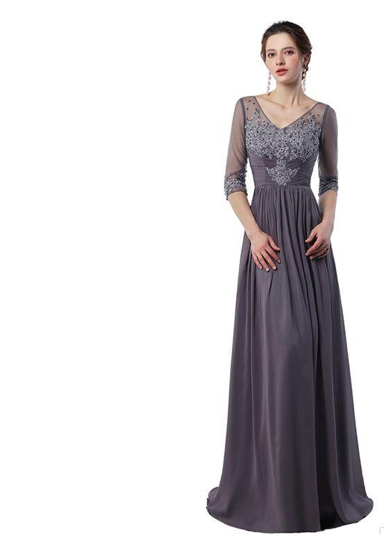 elegant evening formal dresses 2018 Prom Dresses Vestidos Do Baile De Finalistas V Neck Sexy Backless Evening Dress Mother of the Bride Long