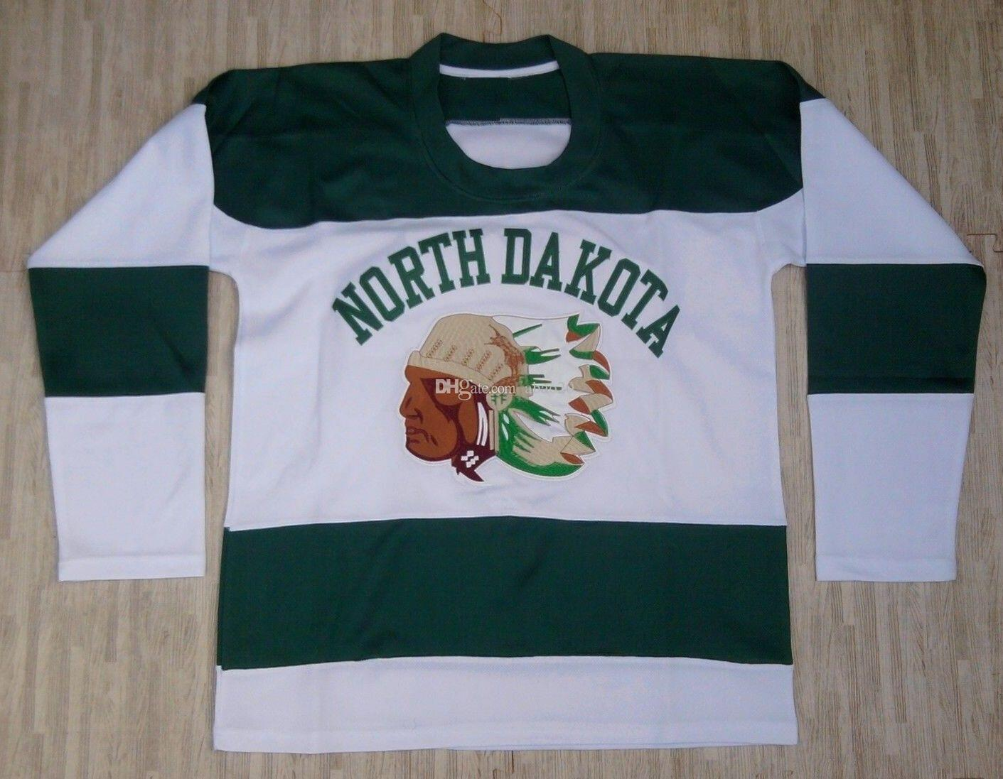 North Dakota Fighting Sioux 1950 S Style Chief Retro Classic Ice Hockey  Jersey Mens Stitched Custom Any Number And Name Jerseys UK 2019 From  Abao20 34abc07cf