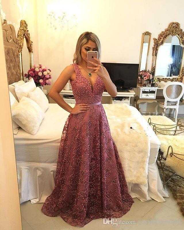 2018 Sexy Barato Vestidos de Noite Quadrado Pescoço Keyhole Apliques de Renda De Cristal Frisado Bling Formal Vestidos de Noite Plus Size Vestido de Festa Árabe