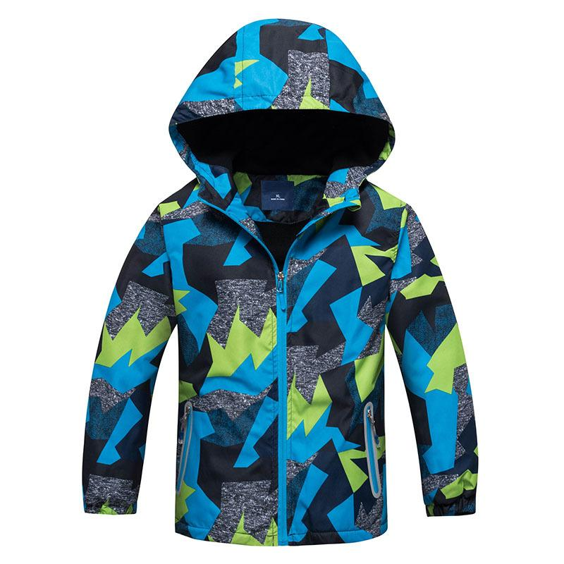 e764f6700add 2018 Children Jackets Polar Fleece Spring Children Outerwear Warm ...