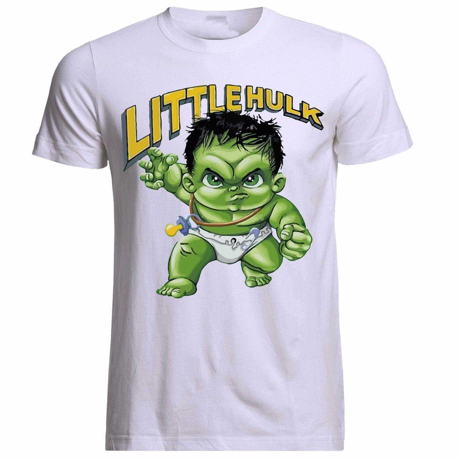 3b9653a8 LITTLE HULK CHILDRENS TOP MARVEL SUPERHERO AVENGERS UNISEX PH159 T SHIRT  Clever Tee Shirts Now T Shirts From Teestotal, $11.01| DHgate.Com