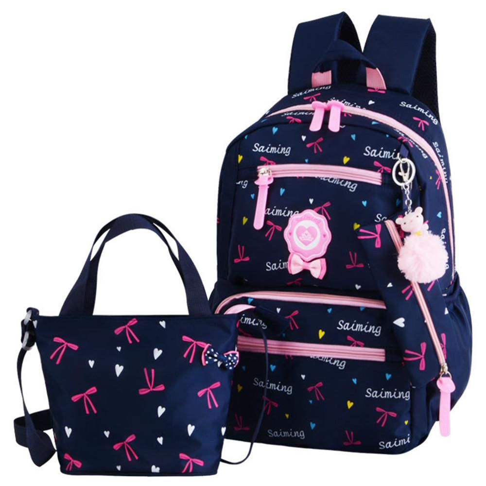 847791251 Niños Mochilas Escolares Niñas Adolescentes Mochila de Impresión mochilas  escuela 3 unids / set Mochilas mochila de viaje para niños Lindo bolso de  hombro