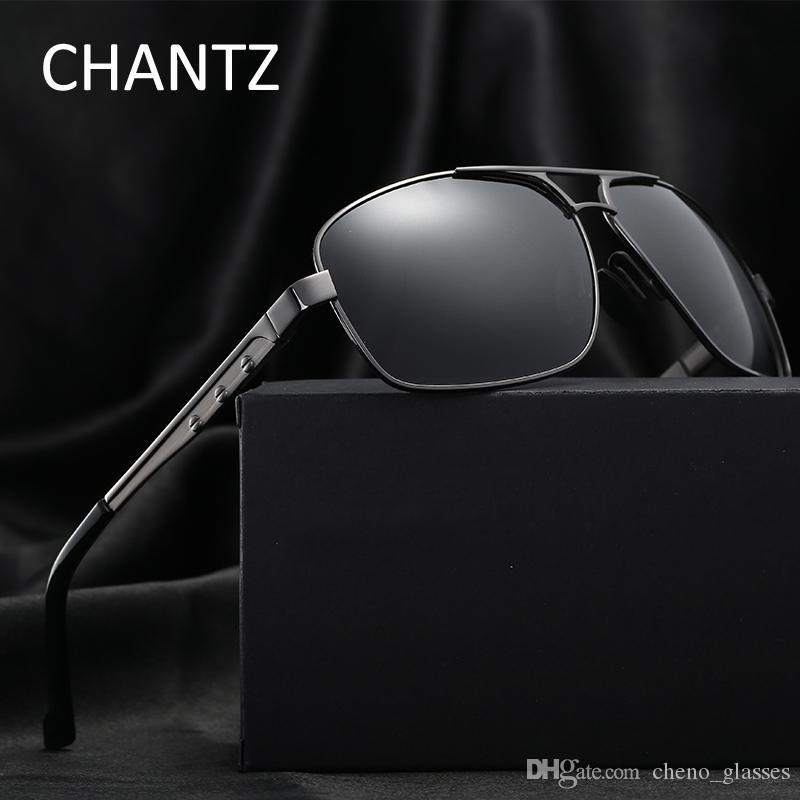 a853a69ca94bc8 Vintage Polarized Sunglasses Men Sonnenbrille 2018 Brand Driving Sun  Glasses for Men Metal Okulary UV400 Lunette De Soleil Homme Polarized  Sunglasses ...