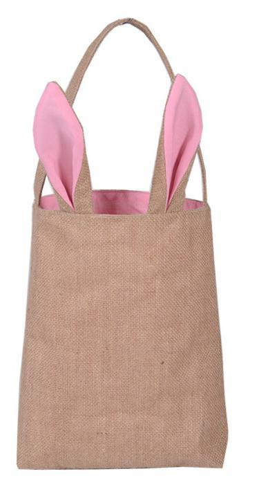 Dhl wholesale easter bunny ears bag jute burlap material gift bags dhl wholesale easter bunny ears bag jute burlap material gift bags easter celebration decoration bags fast shipping thank you party favors themed party negle