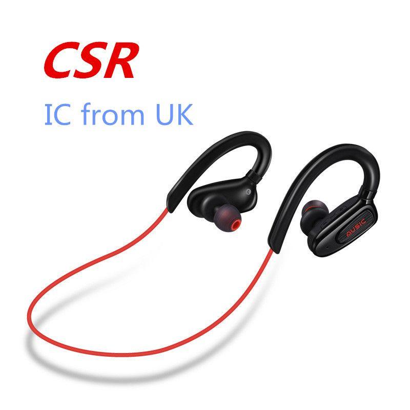 HigH-quality 4 0 Bluetooth headset stereo dual-channel waterproof  sweatproof wireless sports headset for Apple Samsung General earphone