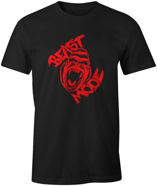 cb64b10846e Beast Mode T Shirt MMA Bodybuilding Muscle Fitness Training Gym Workout Gift  Max Top T Shirt Sites Cool T Shirts For Boys Online From Linnan05