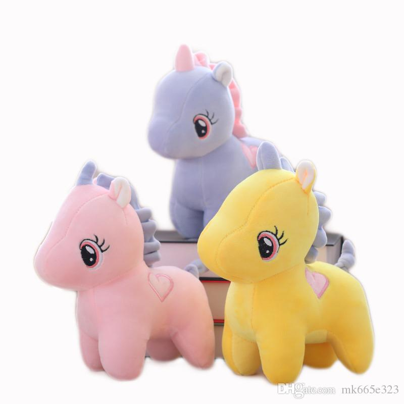 Cute Plush Toys Unicorn 22cm 8 6 Inch Fluffy Stuffed Animal Gerbil