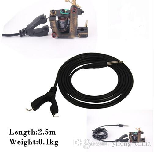 YILONG Top Quality New Professional Tattoo Clip Cord With Two Tattoo Machine 2.5M For Power Supply