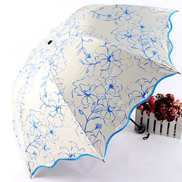 dad088d3dc5bb Best Selling Portable Outside Sunshade Parasol Anti-UV Folding Umbrella  Women Sun Rain Umbrellas Sunny And Rainy Umbrella Folding Umbrella Women  Rainy ...