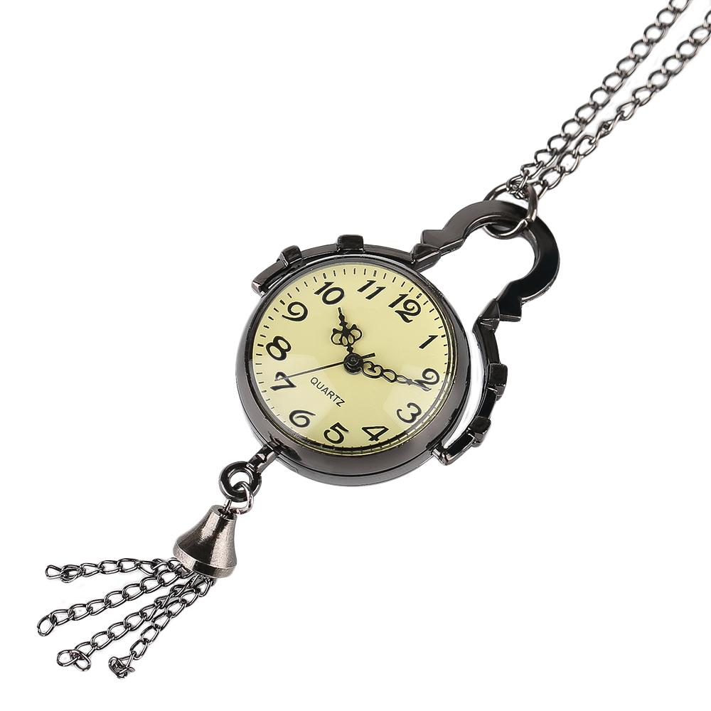 Pocket Watch Quartz Necklace Unisex Watch Pendant Woman Gifts Chain Nursing  Clock Vintage Masonic Freemason Creative