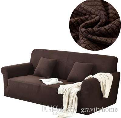 Compre Svetanya Amazon Hot Slipcovers Funda De Sofa De Color Solido