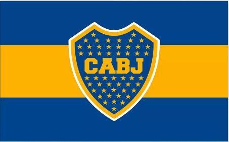 5782be3c2e82 Argentina Club Atlético Boca Juniors Flag Banner 150CM*90CM 3*5FT Polyester  Custom Banner Sports Flag