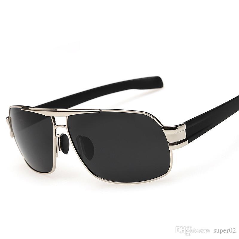 8bbc5b9da640c Polarizing Mirror for Male Driver Sunglasses Oculos De Sol Masculino ...