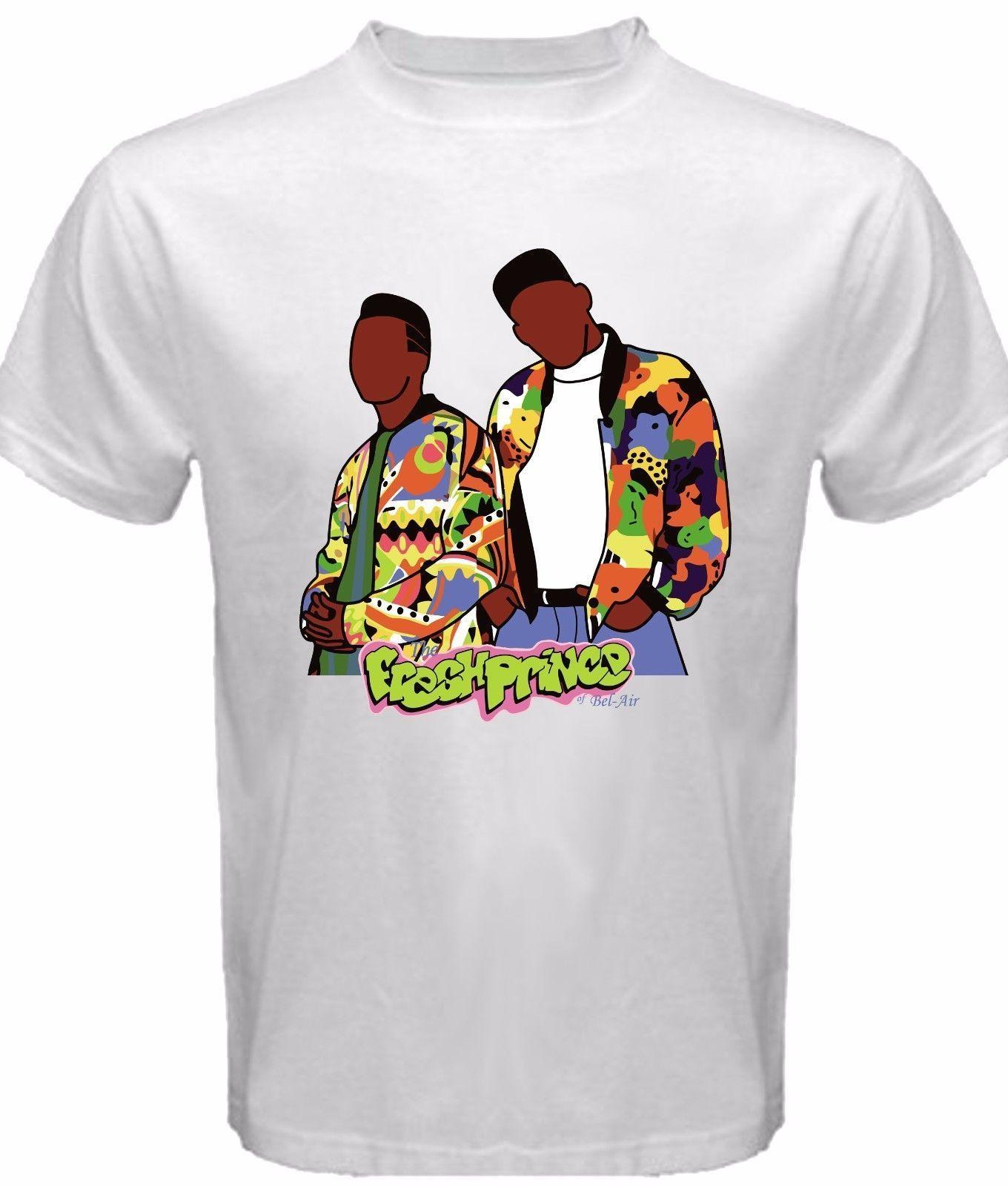 016ed17d2929 FRESH PRINCE OF BEL AIR WILL SMITH SHOW T SHIRT New Men S Tee Size S To 3XL  Funny O Neck T Shirt Allen Iverson Jersey T Shirts Designer Funny Tee Shirt  From ...
