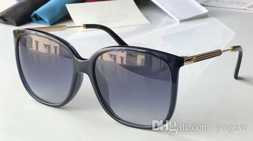 Métal Lunettes Surdimensionné Or Optyl Designer De 3845s Soleil Avec Carré Stripe Boîte Marque Nouveau Noir Mode 3845 qSAjc4R35L