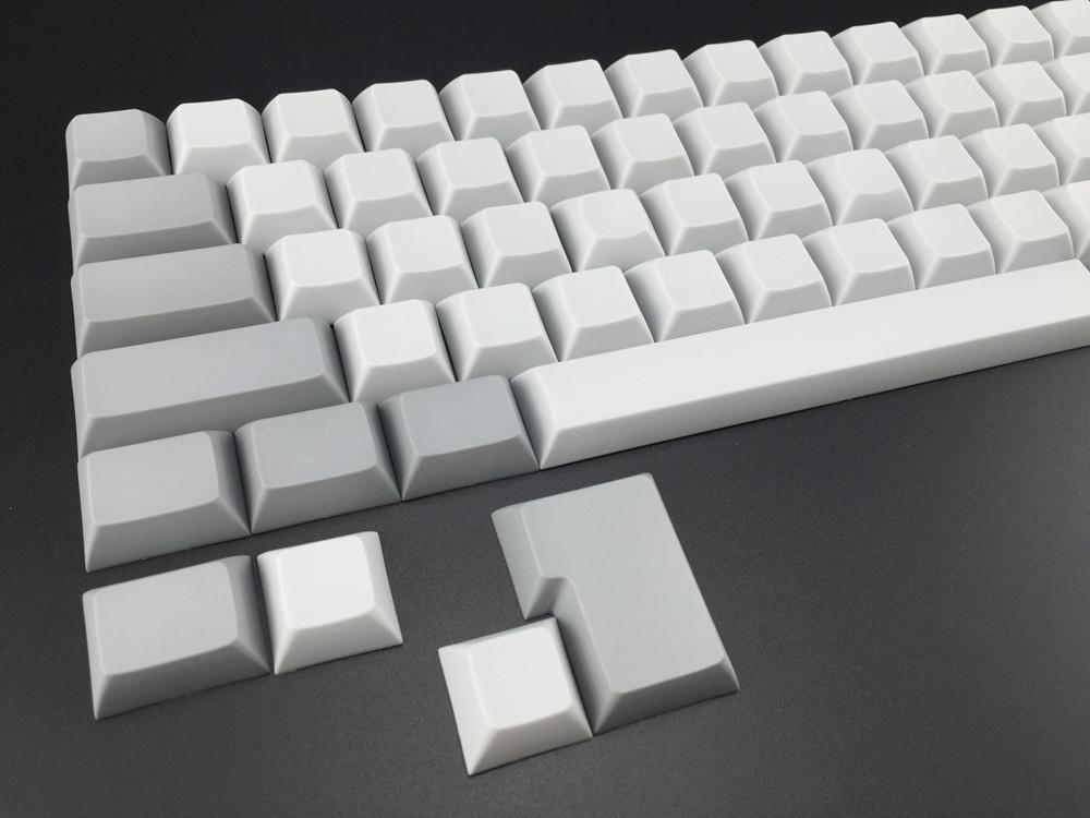Cool Jazz blank DSA keycaps for tada68/gh60/poker mx mechanical keyboard  pbt caps fc660 keycap
