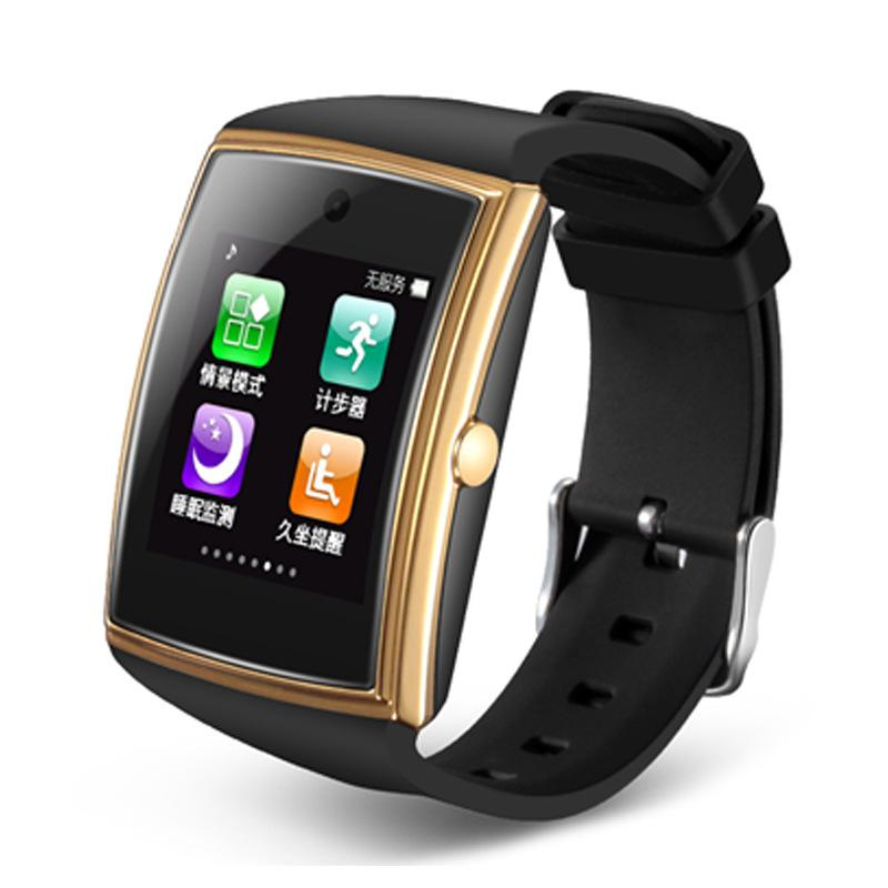 LG518 Smart Watch 3D Surface 3 0 NFC Support SIM TF Card Pedometer Sleep  Monitor Waterproof IOS Android Smart Phones