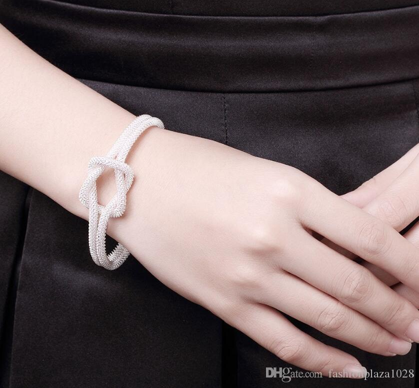 925 Silver New Product Charm Handmade Special Lock Open Adjustable Bangles Antique 925 Silver Bracelets Bangles