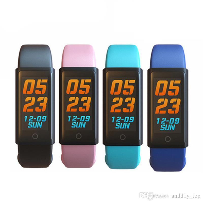 X6S Smart Bracelet Bande Moniteur de Fréquence Cardiaque Dynamique Écran LED Coloré Smartwatch Santé Sport Tracker Activité Alertes Appel Bracelet