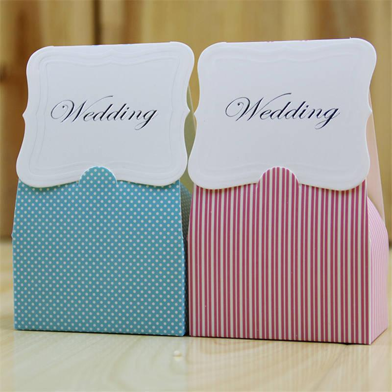 Wedding Pink Light Blue Flat Candy Box Bags Birthday Party ValentineS Day Decor Kid Gifts 30th Wrapping Paper Amazing From