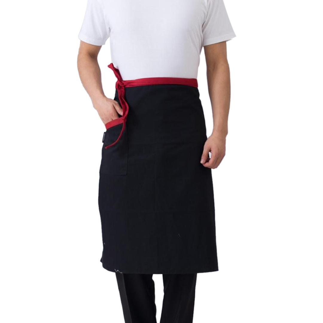 2018 Hot Sale Cooking Apron Men Women Kitchen Apron Hotel Restaurant Cafe Waiter Chef Waist Aprons Househould Cleaning Tools