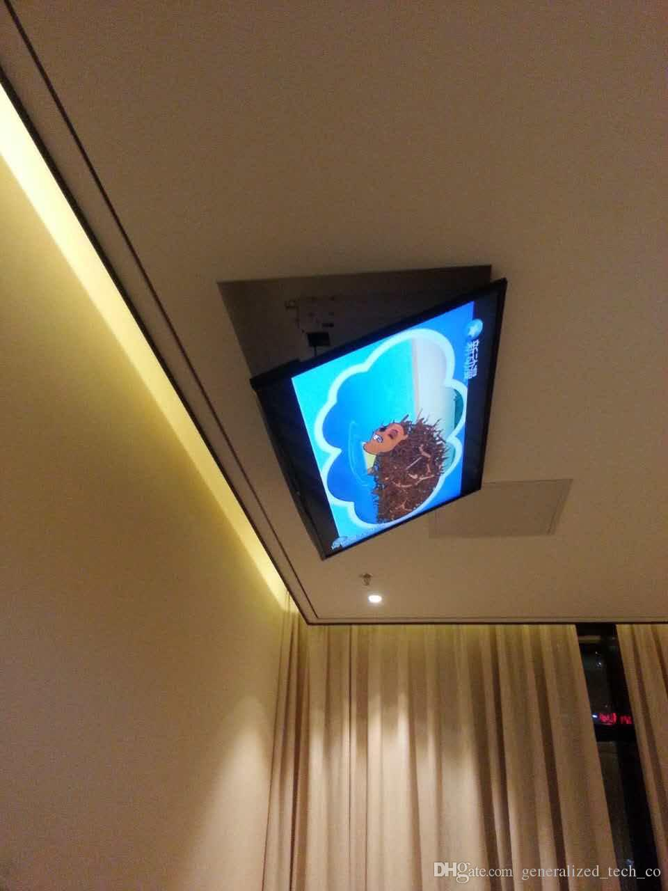 Large Project Bracket Ceiling Tv Lift For 32 80 Inch Tv