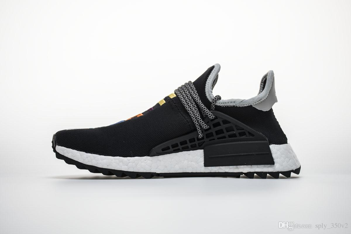 2018 Pharrell Williams Human Race Nmd Shoes New Nmds Men Women Sports Shoes  Breathe Walk Runner 2 Luxury Brand Sneakers Vegan Shoes Comfort Shoes From  ... c3b8e059e