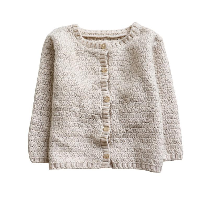 4d99d6a6d Kids Toddler Baby Knitted Warm Cardigan Sweater Boys Girls Clothes ...
