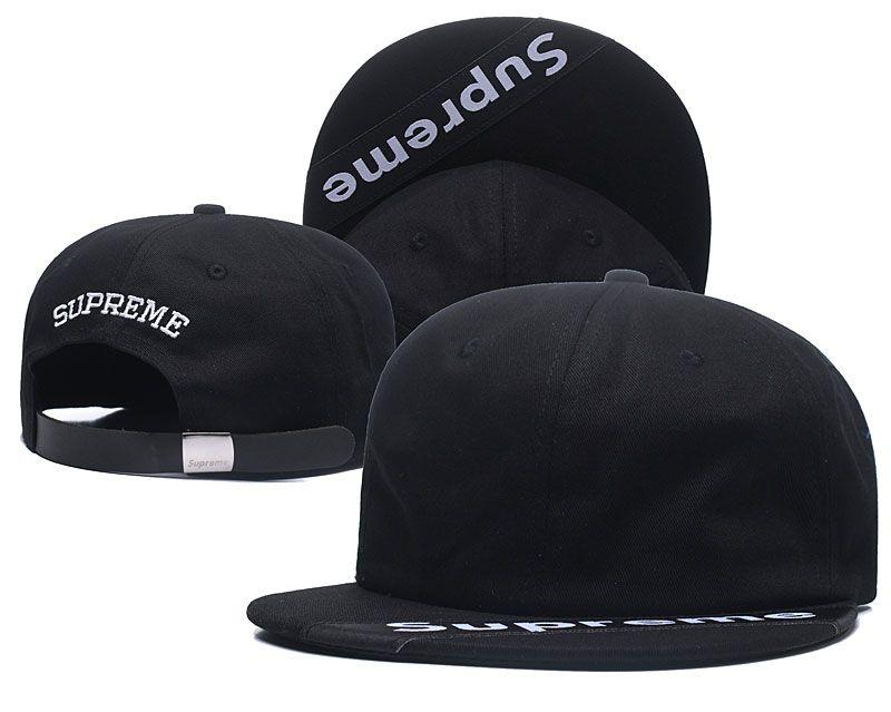 c951874424b 2019 New Suoreme Snapback Hat Fashion Solid Ball Cap Top Quality Leisure Baseball  Cap Flat Brim Couples Hats Adjustable Sport Cap ForAdults Kids From ...