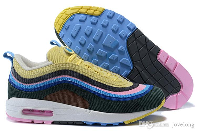 2c57337c3a 97 Max97 1 Sean Wotherspoon VF SW Hybrid Best Quality Running Shoes Men  Women 97 Sneakers Running Shoes Online with $38.86/Pair on Jovelong's Store  ...