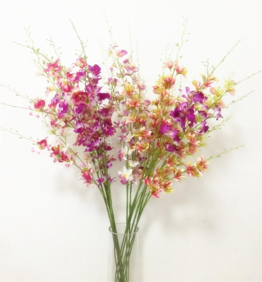 2018 dendrobium orchids whitegreenpurplefuchsiaredyellow color 2018 dendrobium orchids whitegreenpurplefuchsiaredyellow color orchid flowers for wedding centerpieces from xiaorong2010 2682 dhgate mightylinksfo