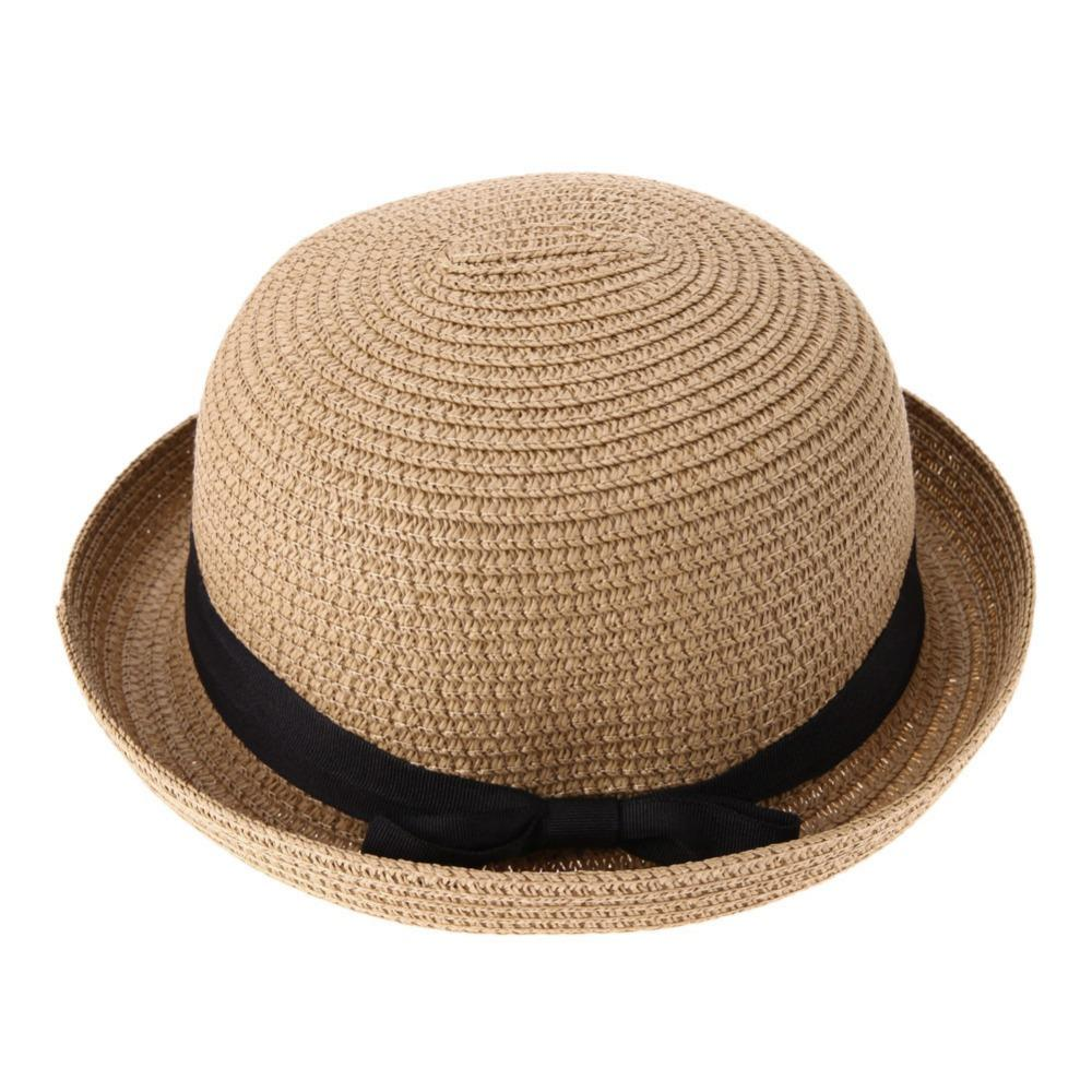 147240bbd0cc7 Sun Hat for Women Summer Beach Sun Women s Hat Happy Weekend Picnic Summer  Hats for Women Straw Knitted chapeu feminino
