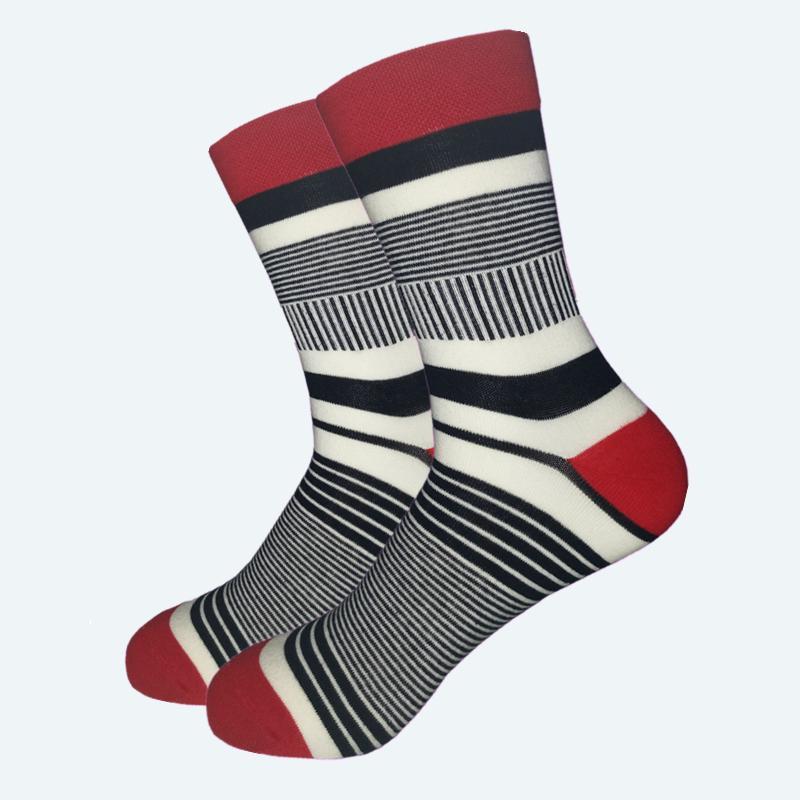 1a34ecd989b70 2019 Casual Promotion Calcetines Hombre Socks Men Standard Men 'S Latest  Clothes Socks Fashion Fine Stripes Male Cotton No Box From Clothingdh, ...