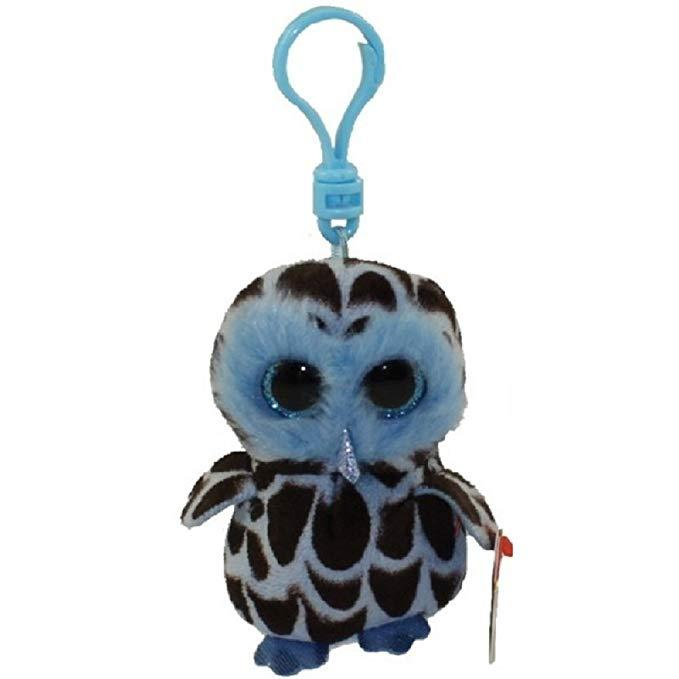 2019 Ty Beanie Babies 4 9cm YAGO Blue Owl Clip Key Ring Clip Plush Soft Stuffed  Animal Collectible Doll Toy With Heart Tag From Mobiletoys 06ea188abbfa