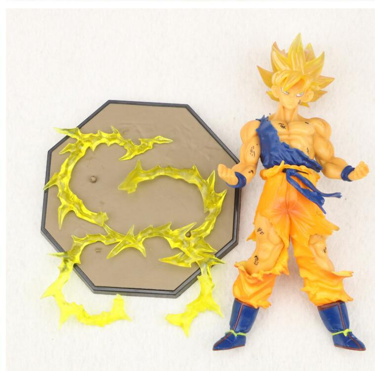 17cm Dragon Ball z Son Goku action figures Super Saiyan PVC Collectible Toy model Dolls kids Gift KKA5772