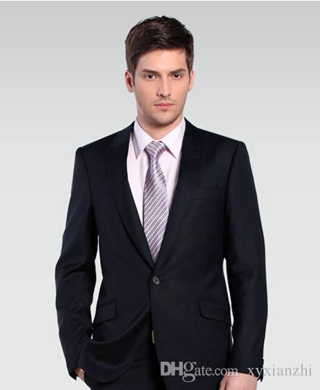 trajes de boda para el novio esmoquin para hombre traje formal de alta calidad ropa formal 2018 sangrado de lana