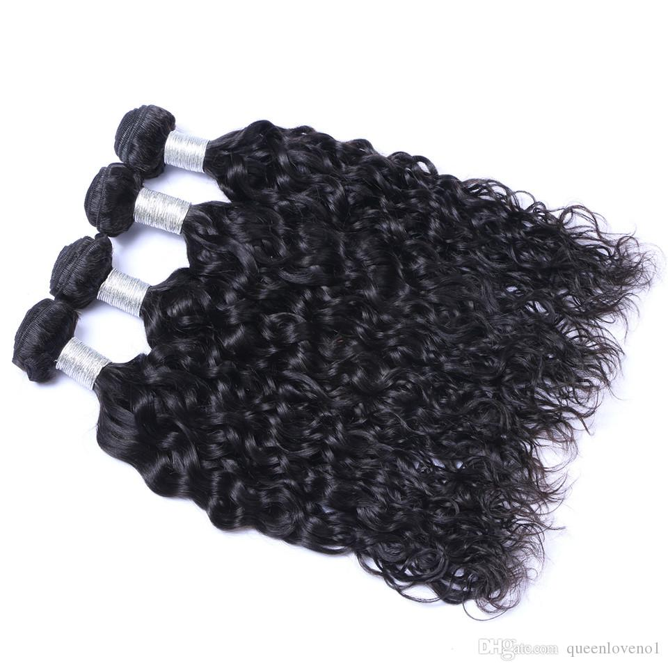 Peruvian Nature Wave Virgin Hair Weave Remy Human Hair Extensions Natural Color No Shedding Tangle Free Can Be Dyed Bleached