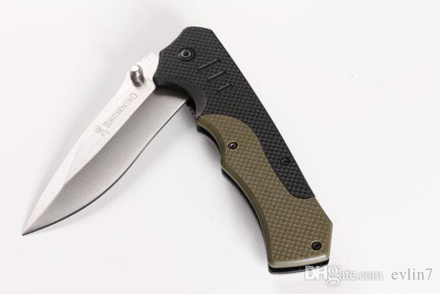 Высочайшее качество Новое прибытие Brow F17 Тактический складной нож G10 + Стальная ручка Карманный нож выживания Складной нож с оригинальной бумажной коробкой