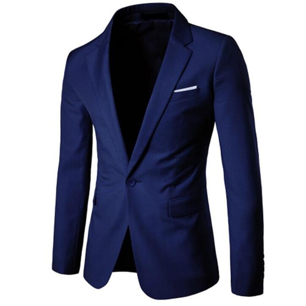 low priced 3d6c6 1a434 Männer Hochzeit Jacken Anzug Männer Blazer Slim Fit One Button Kostüm  Business Casual Formale Partei Klassische Mantel große Größe S-5XL 6XL  S18101902
