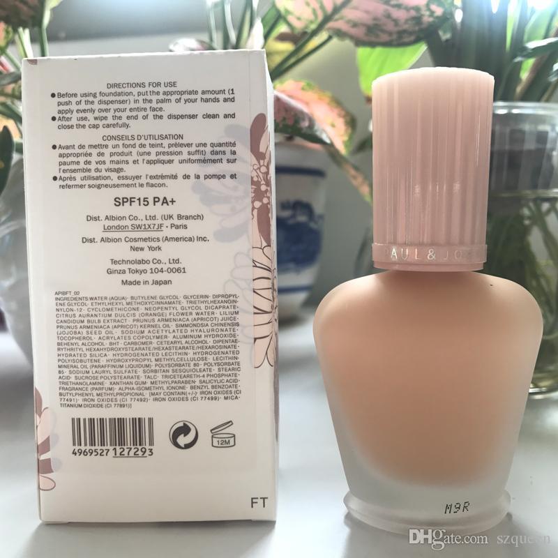 Brand enamel paul&joe pj refreshing Faced foundation liquid Luminous Primer 30ml 30ML 660251- 01