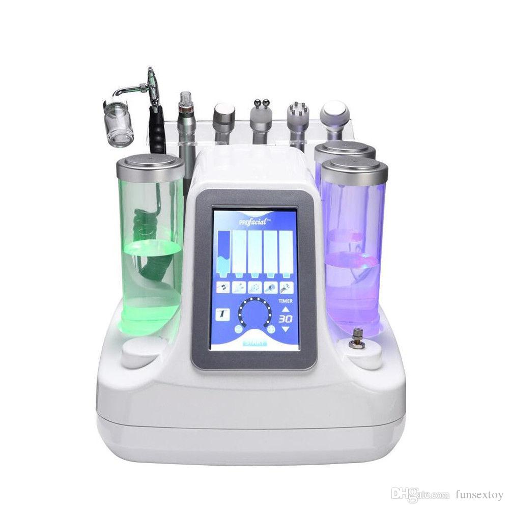 Oxygen Jet Cold Hammer BIO Ultraschall-Maschine Microdermabrasion Hydro Peel Hydrafacial Dermabrasion Hydra Peeling Spa Equipment
