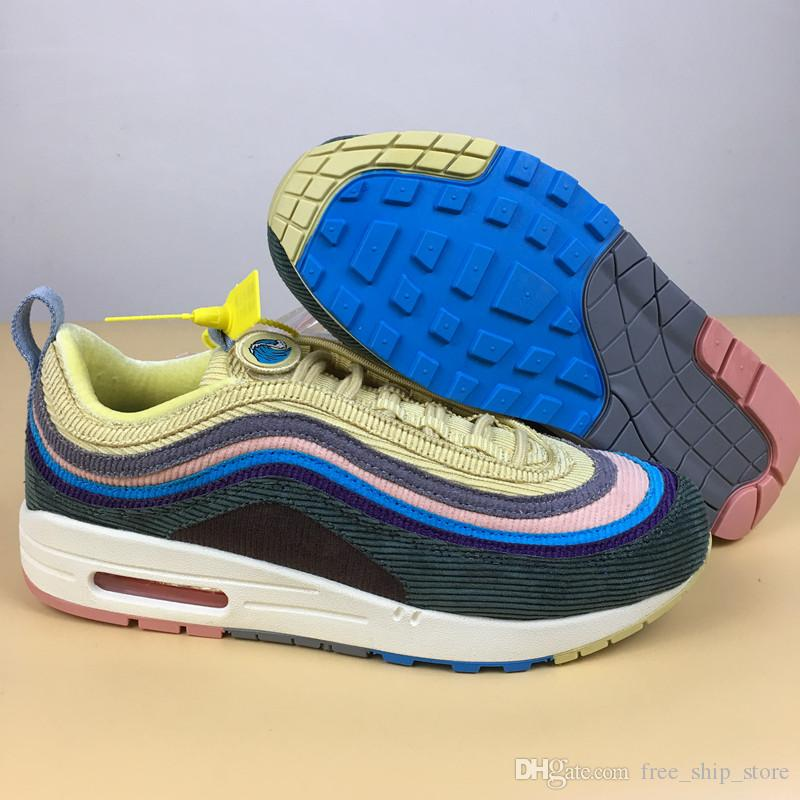3ee7d8afd6 NEW Best Sean Wotherspoon Men Running Shoes Women Sports Sneakers Fashion  Trainers With Box Top Quality Size 5 5.5 11 Sport Shoes Mens Sneakers From  ...